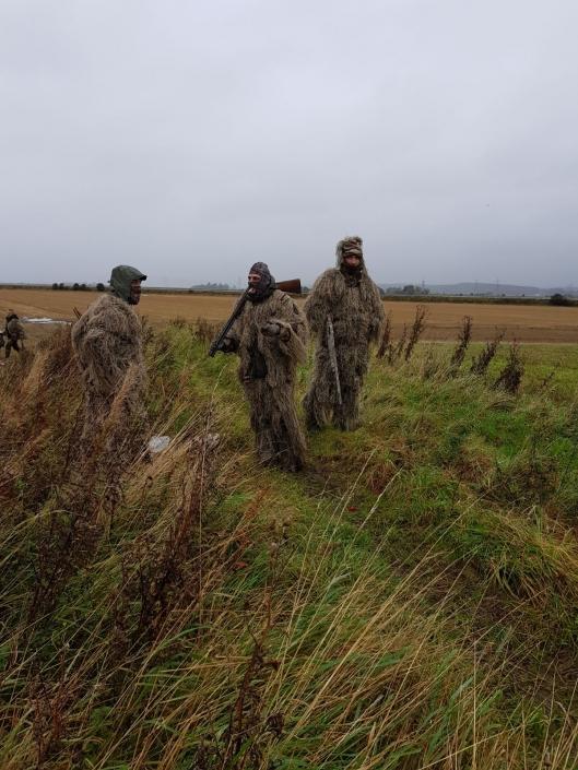 Autentic Chasse- chasse aux oies en ecosse