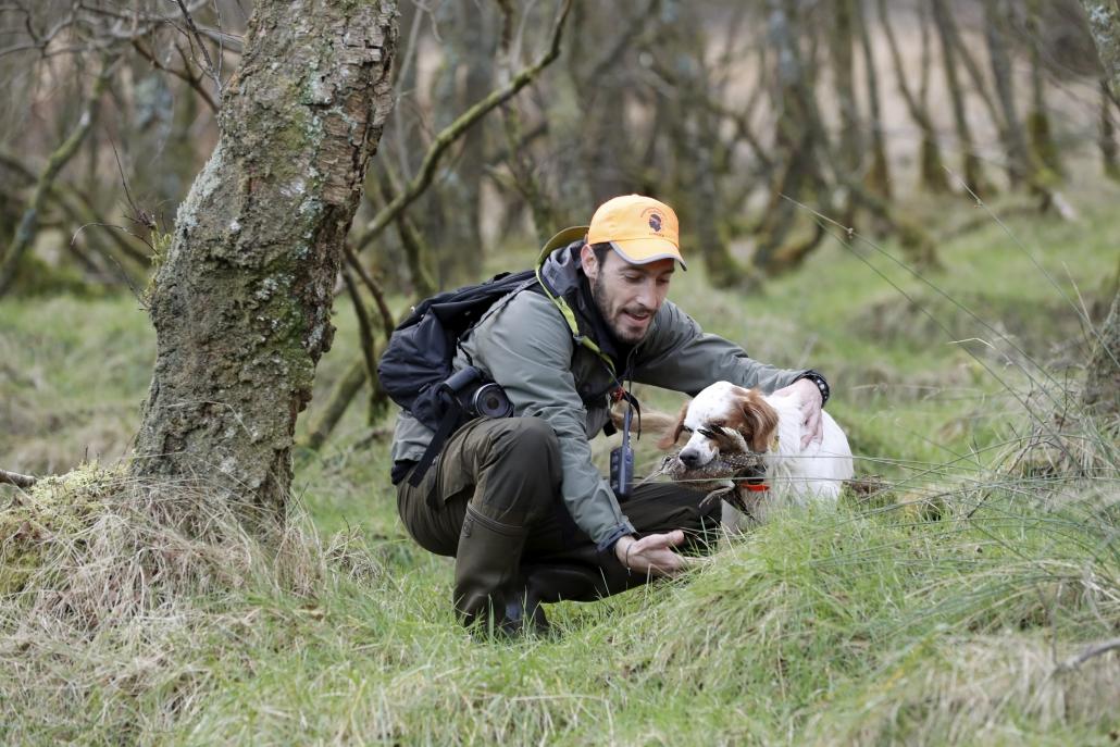 autentic chasse - Mannoni Florian - chasse des becasses en ecosse